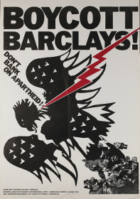 Poster produced for the campaign to make Barclays Bank