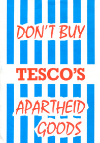 Don't buy Tesco's apartheid goods