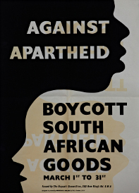 Poster for the March Month of Boycott