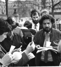 Seder for Freedom in Southern Africa, April 1987
