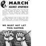 60s14. Anti-Apartheid Month, November 1963