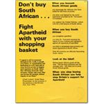 60s25. 'Fight apartheid with your shopping basket'