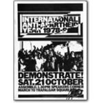 70s20. International Anti-Apartheid Year rally