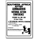 80s01. 'Southern Africa after Zimbabwe' conference