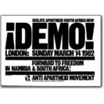 80s06. 'Southern Africa: The Time to Choose' demonstration