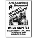 80s13. 'Southern Africa: The Time to Act' activists conference