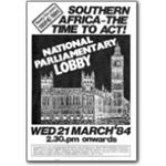80s16. Lobby of Parliament, 21 March 1984