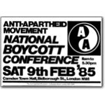80s19. National Boycott Conference, 1985