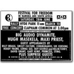 80s28. Festival for Freedom, 28 June 1986