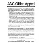 80s61. ANC Office Appeal