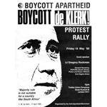 90s04. 'Boycott de Klerk'
