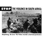 90s18. 'Stop the Violence in South Africa'