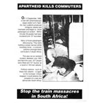 90s19. 'Apartheid kills commuters'