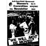wnl11. AAM Women's Newsletter 11, Nov/Dec 1983
