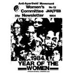 wnl12. AAM Women's Newsletter 12, Jan/Feb 1984