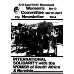 wnl13. AAM Women's Newsletter 13, March/April 1984