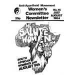 wnl15. AAM Women's Newsletter 15, July–August 1984