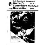 wnl19. AAM Women's Newsletter 19, March/April 1985