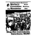 wnl20. AAM Women's Newsletter 20, May/June 1985