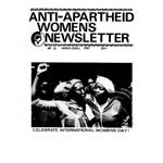 wnl31. AAM Women's Newsletter 31, March–April 1987