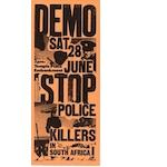 po192. Demonstration against police shootings, June 1980
