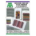aae03. AA Enterprises catalogue, Winter 1987–1988