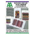 aae03. AA Enterprises catalogue, Winter 1987–1988