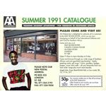 aae08. AA Enterprises catalogue, Summer 1991
