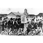 apd24. School students protest in Cape Town