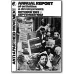 ar21. Annual Report, October 1981–September 1982