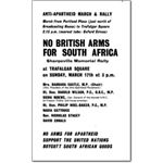 arm02. 'No British Arms for South Africa'