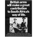 arm14. 'British arms will make a great contribution to South Africa's way of life'