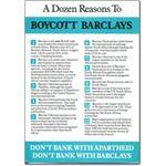 bar05. A Dozen Reasons to Boycott Barclays
