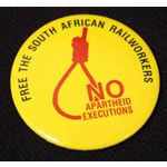 bdg18. Free the South African Railworkers