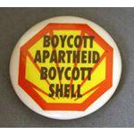 bdg31. Boycott Apartheid Boycott Shell
