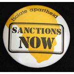 bdg33. Isolate Apartheid Sanctions Now