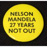 bdg36. Nelson Mandela 27 Years Not Out