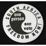 bdg39. South Africa Freedom Now! One Person One Vote