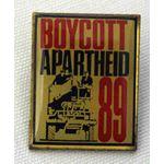 bdg40. Boycott Apartheid 89