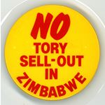 bdg49. 'No Tory Sell-Out in Zimbabwe'