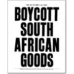 bom12. 'Boycott South African Goods'
