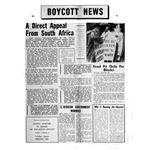 bom16. Boycott News No. 1