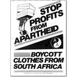 boy03. Boycott Clothes from South Africa