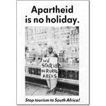 boy16. 'Apartheid is No Holiday'