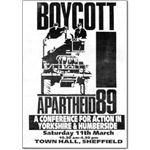 boy31. Boycott Apartheid 89 conference – Yorkshire & Humberside