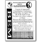 bsc06. Black solidarity consultation conference