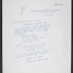cul02. Letter from Samuel Beckett, 1963