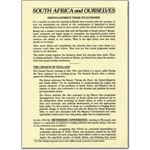 fai01. 'South Africa and Ourselves'