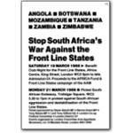 fls09. Stop South Africa's War Against the Frontline States