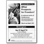 lgs44. 'What Prospects for Freedom' Birmingham conference